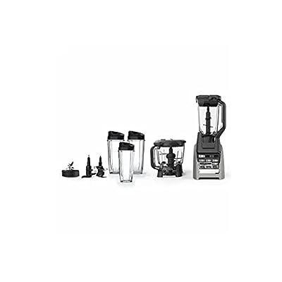 SharkNinja BL687CO Kitchen Nutri Blender System, Silver/Black (Certified Refurbished)