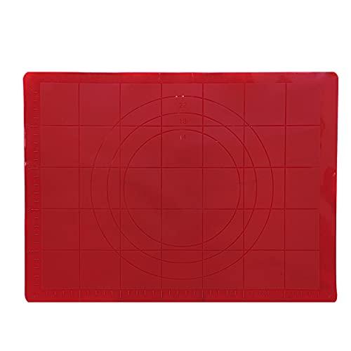 Folha Antiaderente de Silicone Vermelha 38 cm x 27 cm - CF01 - Yangzi