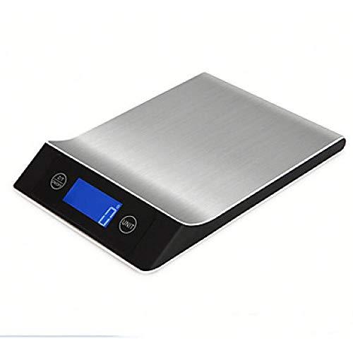 5000g / 1g Portable Auto Off LCD-scherm Elektronische keukenweegschaal Digitale sieradenweegschaal voor kantoor en onderwijs Thuisleven Keuken dagelijks