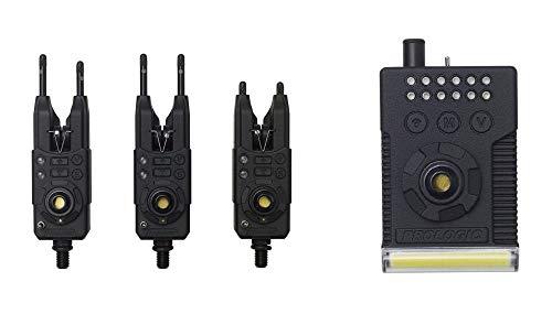 Prologic Fulcrum RMX Pro Bite Alarm 3+1 Presentation Set 65013