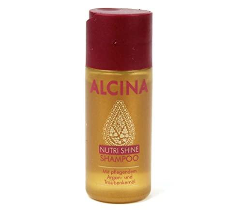 Alcina Nutri Shine Champú 50 ml en tamaño de viaje