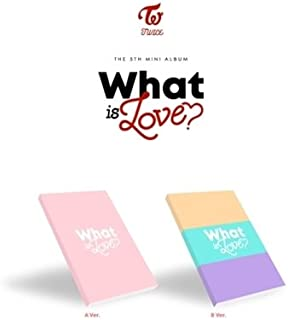 TWICE [WHAT IS LOVE?] 5th Mini Album Random Ver CD+P.Book+Card+Sticker+Tracking Number