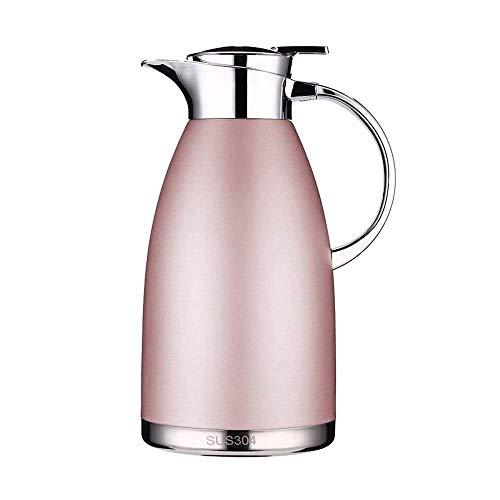 HJQFDC Hervidor de aislamiento, hervidor de acero inoxidable 304, botella de agua hirviendo, gran capacidad de 1,8 l/2,3 l (tamaño: 2,3 l) con tamaño 1,8 l)