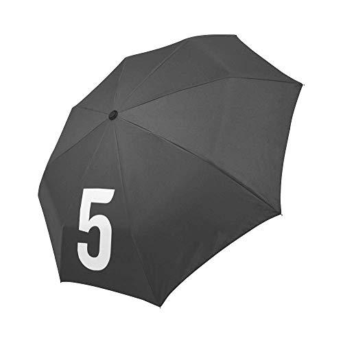 The Umbrella Academy - Paraguas con número de la Academia de Paraguas Cosplay - Paraguas con número