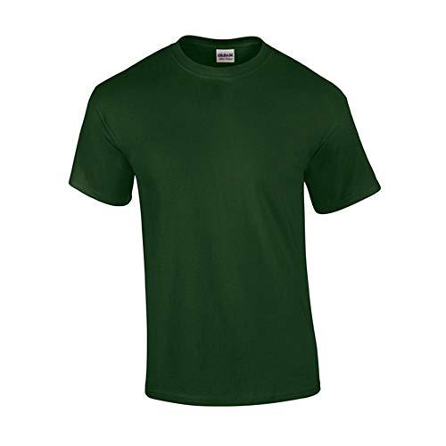 Gildan - T-Shirt 'Ultra Cotton' 5XL,Forest Green