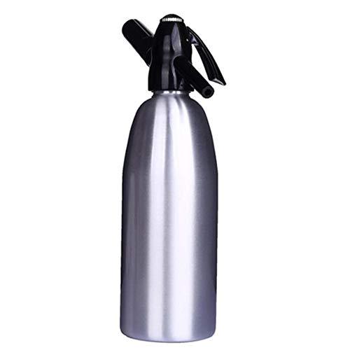 Soda Siphon - Soda Maker - Aluminium - 1 Liter - Maak Soda Infusions van Tap of met flessenwater