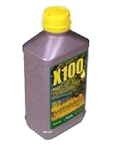 Alpina Additief met octaan- en stabilisatorheffer, speciaal smeermiddel voor kettingzagen, bosmaaiers en alle 2-takt motoren, 100 ml