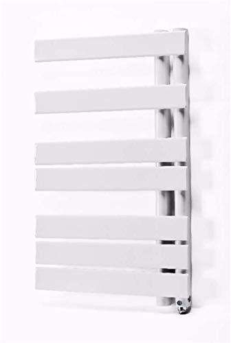 Toallero de toallero con calefacción, calentador de toallas de pared, calentador de toallas eléctrico de fibra de carbono, te permite no sentir la toalla húmeda y fría (color: enchufe)