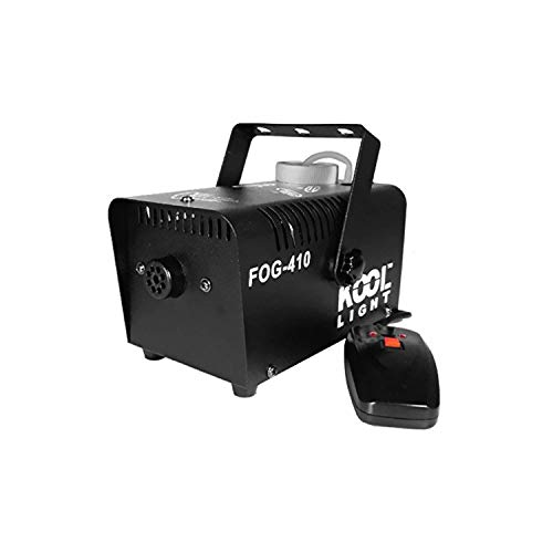 Kool Light rookmachine 400 W – capaciteit 0,3 l – houder/afstandsbediening