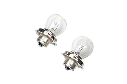 2x Qualitäts Glühlampe Lampe P26S mit E-Zeichen - 12V - 15W