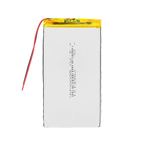 ahjs457 3,7 V Lithium-Polymer-Akku 7566121, 8000 mAh, für Tablet-PC, Basteln,...