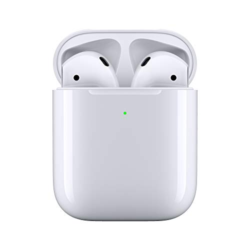 Apple AirPods con custodia di ricarica wireless (Ultimo Modello)