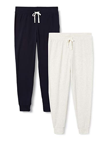 Iris & Lilly ASW-050 loungewear, Mehrfarbig (Grau/Marineblau), 14, 2er-Pack, L