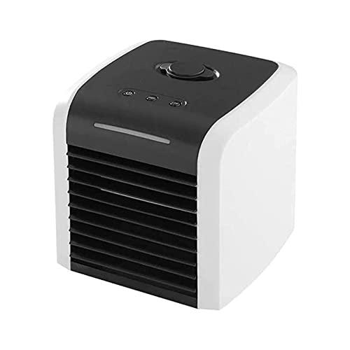 XTZJ Aire Acondicionado portátil - Unidad de Aire Acondicionado Personal, refrigerador de Aire Recargable USB, 2 velocidades del Viento, para hogar, Dormitorio, Oficina, Camping y ca