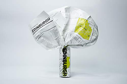 Edinburgh Crumpled City Map (Crumpled City Maps)
