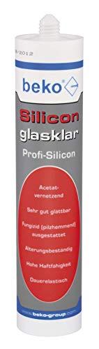 BEKO 22531001 Silicon glasklar 310 ml