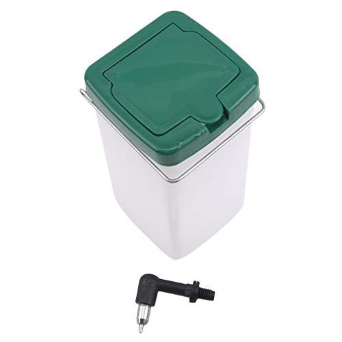 NIKOLay Animal Water Bottle,Pet Automatic Waterer Pet Water Feeder Animal Wire Cage Dispenser Waterer,1000ml