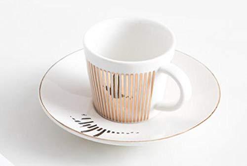 Mug Spiegelreflexion Kaffeetasse Creative Leopard Anamorphic Cup Spiegel Reflection Cup Zebra Becher Luycho Kaffee Tee Set Mit Untersetzer 90Ml-220Ml, 220Ml