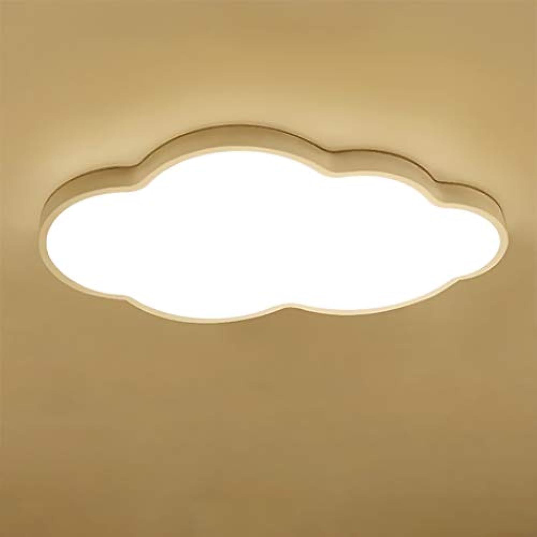 COCOL&Ultradünne LED-Deckenleuchte JINWELL Moderne LED Deckenleuchten Ultradünne Deckenleuchte Led 5 cm Kreative Wolken Stufenlos Dimmen Deckenleuchte für Jungen Mdchen Schlafzimmer Kindergarten mit