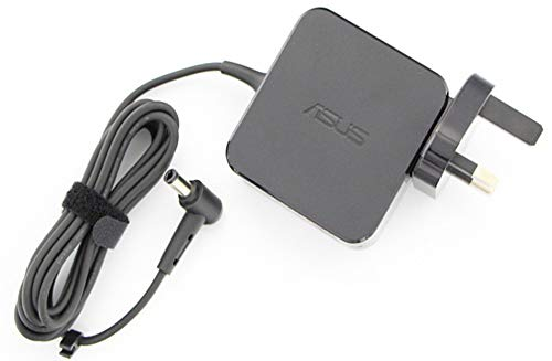ASUS Genuine Original Laptop Power Cable Ac Adapter Battery Charger AD891M21 X553, X553M, X553MA, X553SA Series Notebooks/Tablets + UK Mains Plug - 33W 19V ~ 1.75A Micro Pin 4.0mm x 1.35mm