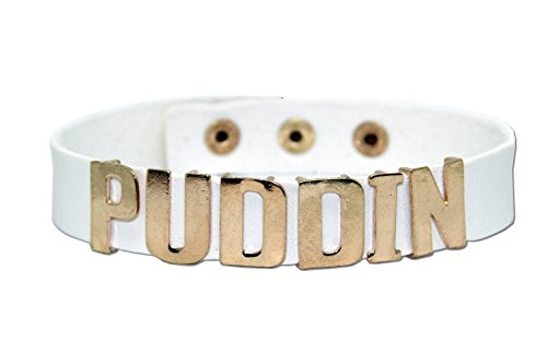 EROSPA® Halsband »Puddin« Suicide Squad Harley Quinn Cosplay Selbstmord weiß/Creme