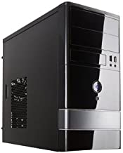 ROSEWILL Micro ATX Mini Tower Computer Case, Steel and plastic computer case with 1x 120mm front fan and 1x 80mm rear fan, Front I/O and 2x USB 2.0 (FBM-01)