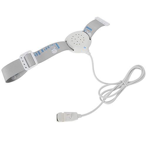 Alarma para mojar la cama Sensor de alarma de enuresis nocturna de alta sensibilidad Monitor de bebé con brazalete elástico ajustable para niños mayores