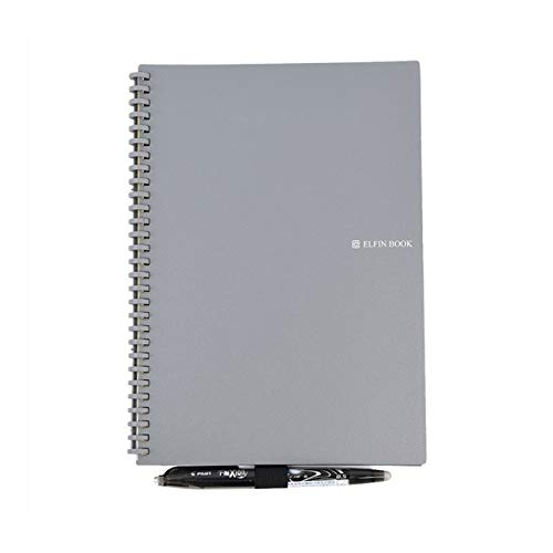 NC56 2019 Smart Reusable Erasable Spiral A5 Notizbuch Papier Notizblock Taschenbuch Tagebuch Journal Office School Zeichnung Geschenk