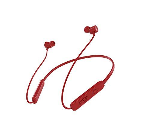 Auriculares Bluetooth inalámbricos con cancelación de ruido con micrófono, auriculares magnéticos intrauditivos, Bluetooth 5.0, 10-H tiempo de reproducción, IPX7 impermeable para deporte
