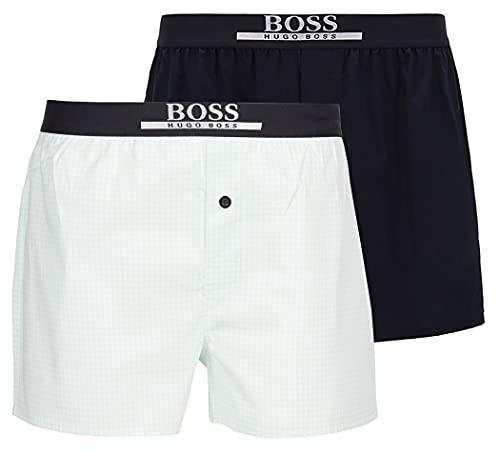 BOSS Herren 2P Boxer Shorts EW Boxershorts, Turquoise/Aqua445, M