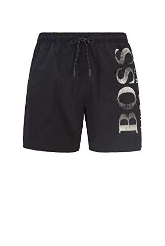 BOSS Hugo Boss Octopus, Pantaloncini da bagno Uomo, Nero (Black), X-Large