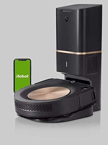 iRobot Roomba S9+ Robot Aspirapolvere Wi-Fi, Svuotamento Automatico,Mappa La Tua Casa, Bronzo Nero