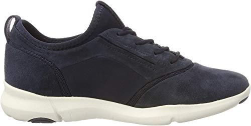 Geox Damen D Nebula S A Slip On Sneaker, Blau (Navy C4002), 39 EU