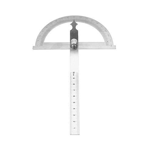 Edelstahl Winkelmesser, 0-180 Grad 15 cm Digital Neigungsmesser Winkelmesser Goniometer Winkelsucher Messgerät Lineal(120 * 150mm)