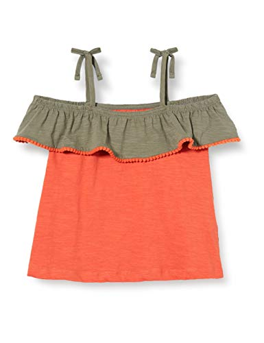 ZIPPY Top sin Mangas para niña SS20 Camiseta, Agave Green 18/5806, 6/7 para Niñas