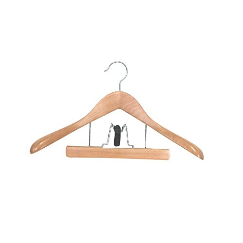 Proman Products Taurus Suit Hanger with Trouser Clamp, 17.5