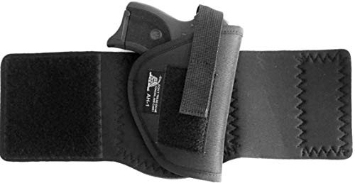DTOM AH1 Neoprene and Nylon Ankle Holster for Glk 26 / 27 / 29 / 30 / 40, Ruger LC9 and and Many Others