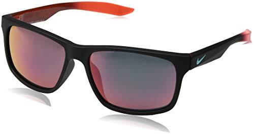 Nike EV0998-085, Injected Sunglasses Mt Black/Hy CRI W/Gr Amar Lens Unisex-Adult, Standard