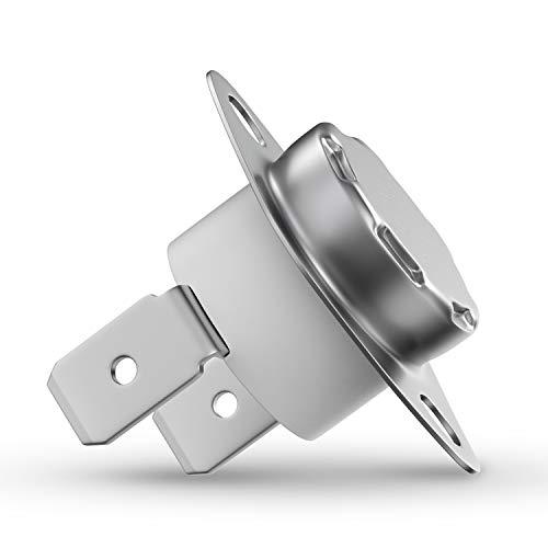 Thermostat Temperaturbegrenzer Klixon Ersatz für 5432530 5432531 Sicherheitsthermostat 160°C für Trockner Wäschetrockner