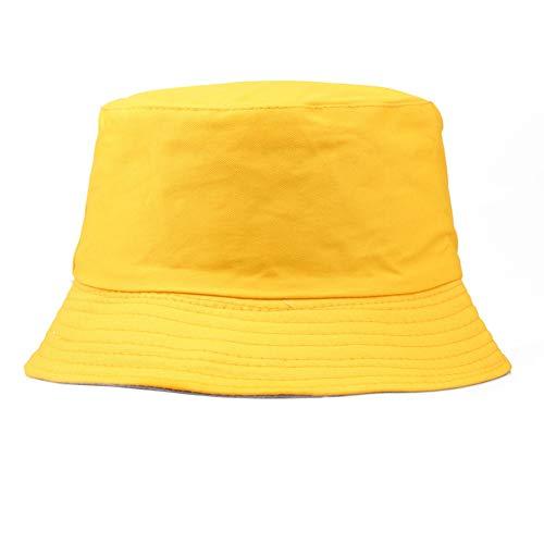 Car-TobBBY Chapeau de seau 100 % coton pour adultes – Pour la pêche d'été et la plage, festival