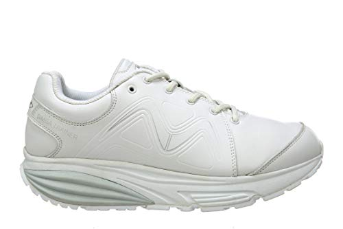Women's Simba Trainer White/Silver Walking Shoes, Size 9 (9 Medium (D) US Woman, White)