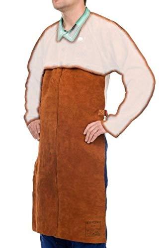Weldas Schweißerschürze Sigma Lava Brown 71x56 cm für Jacke 44-7828 Schweißer Schutzkleidung Schweißerschürzen