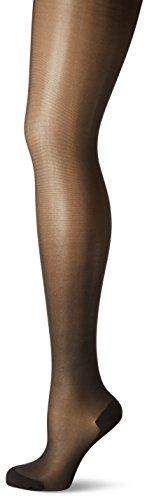 KUNERT Damen Strumpfhose Cotton Sole 309800,Schwarz (Black 0500), Gr. 44/46