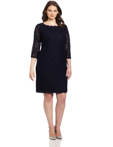 Adrianna Papell Lace Dress Vestido para Mujer