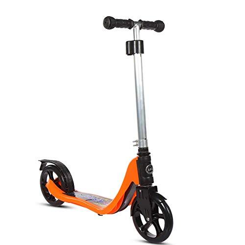 Relaxbx Patinetes para Adultos/Adolescentes/niños; Scooter de Altura Ajustable con Ruedas Grandes de PU, no eléctrico, Capacidad de 100 kg