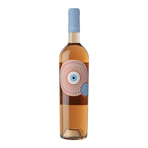 Mati Fortuna - Rose Trocken Wein P.G.I. Peloponnes Agiorgitiko & Merlot - Glas Flasche, 750ml