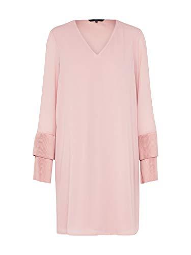 VERO MODA Damen VMJIMILIA L/S Dress D2-2 Kleid, Rosa (Zephyr Zephyr), 38 (Herstellergröße: M)