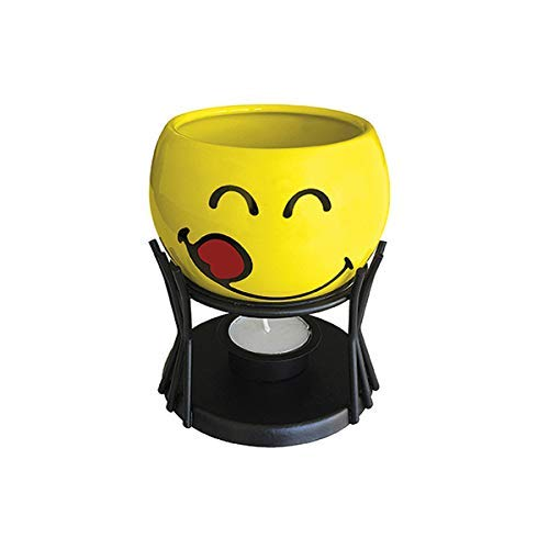 Smiley Emoticon Schokoladen-Fondue in Geschenkbox