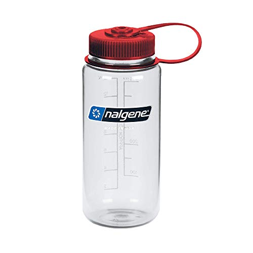 nalgene(ナルゲン) カラーボトル 広口0.5L トライタンボトル クリア 91308