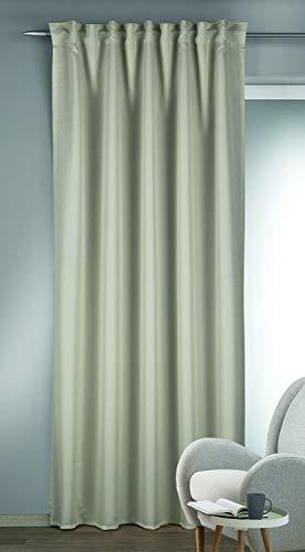Albani sjaal met verborgen lussen Louis wit 245x135 245x135cm linnen